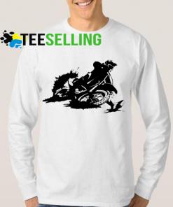 Motocross bikers sweatshirt