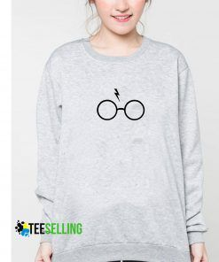 Scary and Glasses Harry Potter Sweatshirt