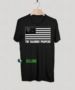 Smashing Pumpkins American Flag Band T Shirt Adult Unisex