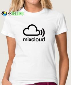 Mixcloud T-shirt Unisex Adult