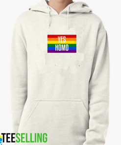 yes homo hoodies