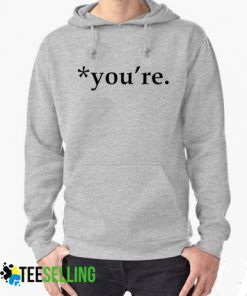 you're grammar Hoodies