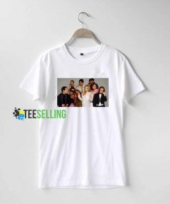 Clueless Cast Sleepover T shirt Adult Unisex