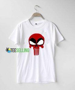 Punisher Deadpool T shirt Adult Unisex