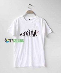 Star Wars Evolution T shirt Adult Unisex