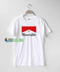 Miserable Inspired Marlboro T Shirt Adult Unisex