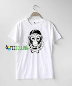 Monkey Astronaut T Shirt
