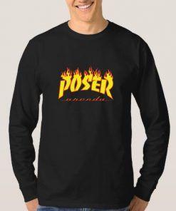 Poser Orenda Flame Sweatshirt Adult Unisex