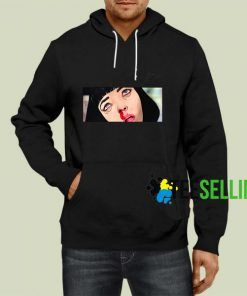 Mia Wallace Pulp Fiction Hoodie Adult Unisex