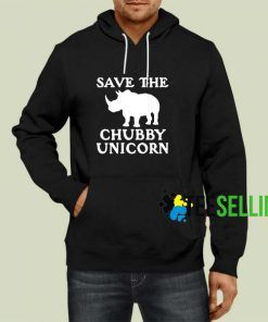 Save The Chubby Unicorn Hoodie Adult Unisex