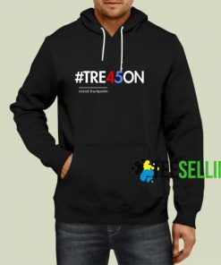 Tre45on Hastag Hoodie Adult Unisex