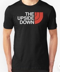 The Upside Down North Face Stranger Things T shirt