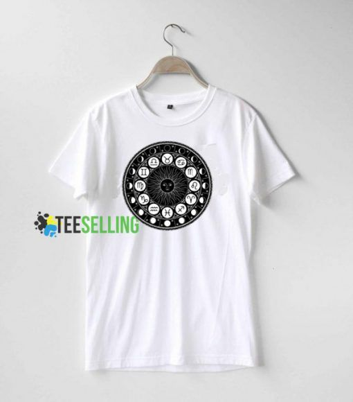 Zodiac T shirt Adult Unisex