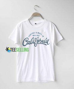 California Surfing T shirt Adult Unisex