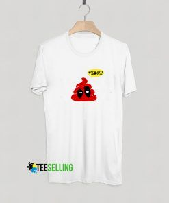 Deadpool Emoji T shirt Adult Unisex