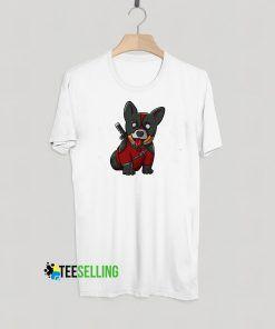 Deadpool Corgi T shirt Unisex Adult
