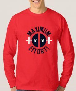Deadpool Maximum Effort Sweatshirt Adult Unisex