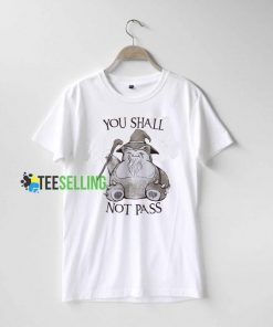 You Shall Not Pass T Shirt Adult Unisex