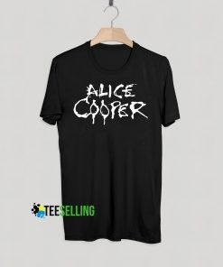 Alice Cooper T shirt Adult Unisex