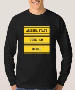 Arizona State Fork Em Devils Sweatshirt Adult Unisex