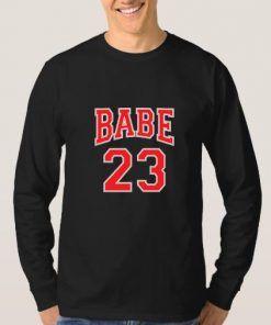 Babe 23 Sweatshirt Adult Unisex Size S-3XL