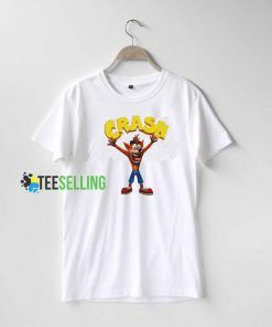 Crash Bandicoot T shirt Adult Unisex