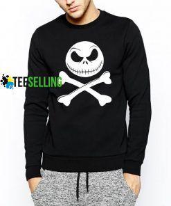 Jack Crossbones Unisex Adult Sweatshirts Size S-3XL