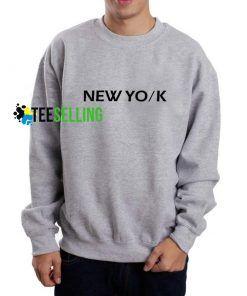 New York Sweatshirt Adult Unisex Size S-3XL