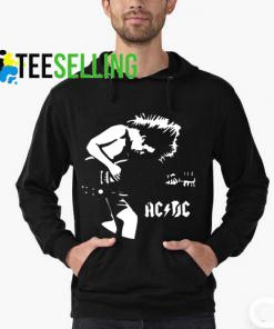 ACDC Guitar Hoodie Adult Unisex