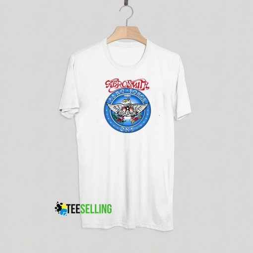 Aerosmith Aero Force One T shirt Adult Unisex