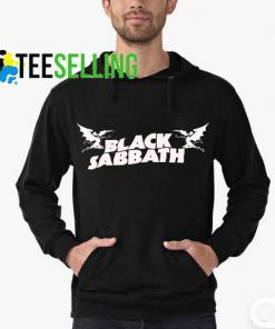 Black Sabbbath Logo Hoodie Adult Unisex