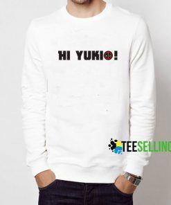 Hi Yukio Deadpool Sweatshirt Adult Unisex Size S-3XL