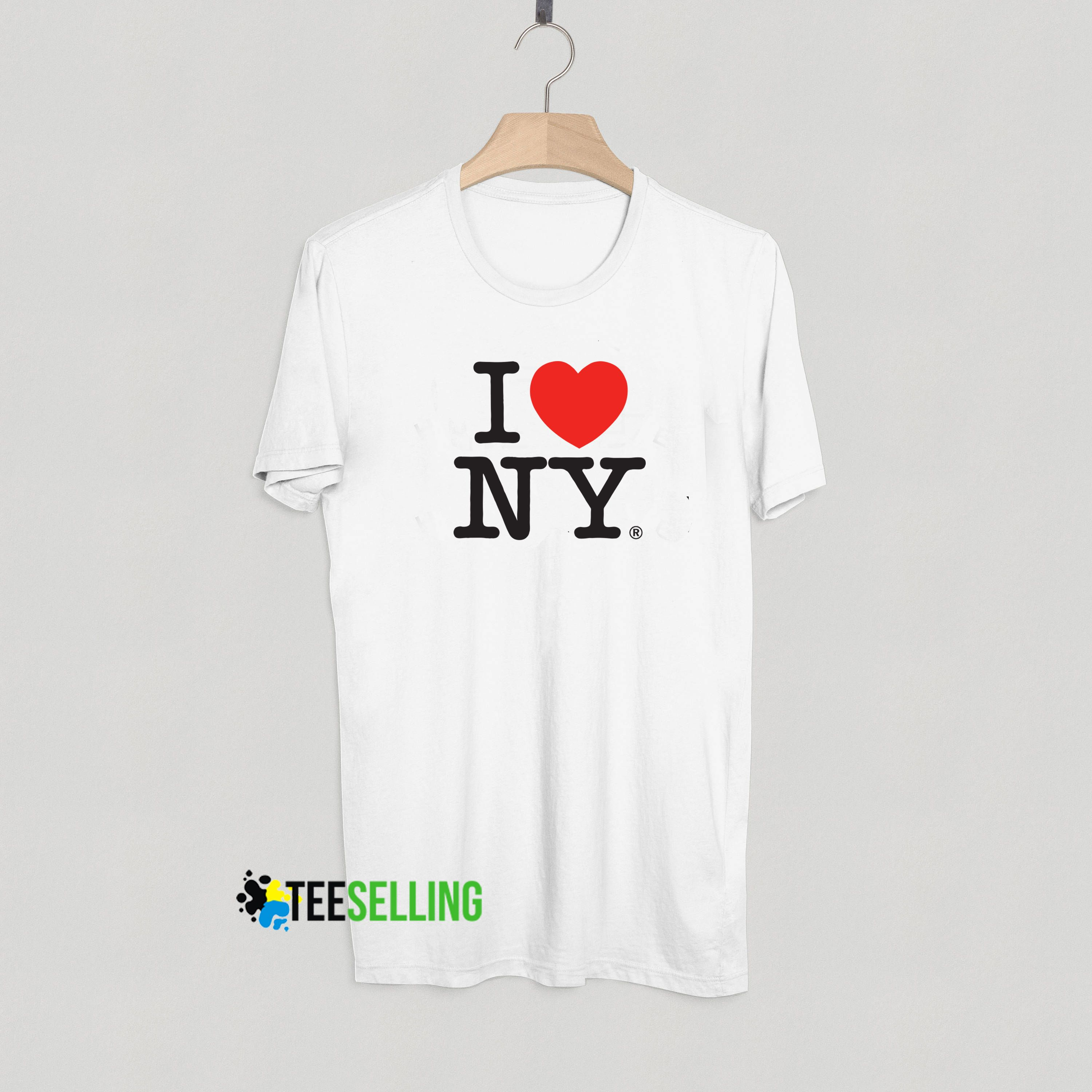 35844427dab4 I Love New York T shirt Adult Unisex Size S 3XL