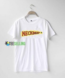 Neck Deep T shirt Adult Unisex