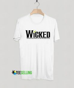 Wicked The Untold Story T shirt Adult Unisex