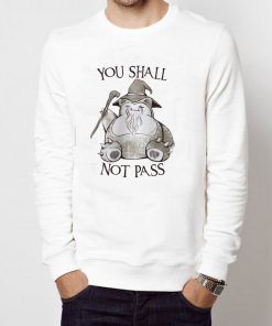 You Shall Not Pass Unisex Adult Sweatshirts Size S-3XL