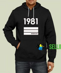 1981 Inventions Hoodie Adult Unisex Size S-3XL