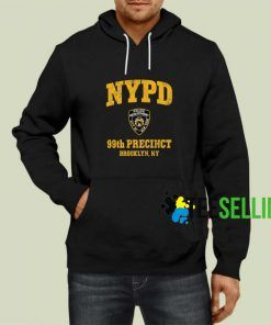 99th Precinct Brooklyn New York Hoodie Adult Unisex