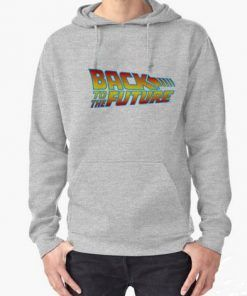 Back To The Future Hoodie Adult Unisex Size S-3XL