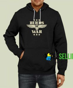 Bird Of War Hoodie Adult Unisex Size S-3XL