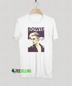 David Bowie Smoking T shirt Adult Unisex Size S-3XL