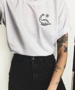 Dinosaur T shirt Adult Unisex Size S-3XL