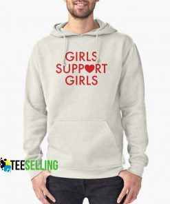 Girls Support Girls Hoodie Adult Unisex