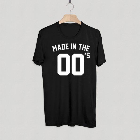 Made In The 00s T Shirt Adult Unisex Size S 3XL