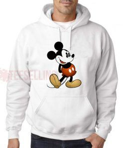 Mickey Mouse Hoodie Adult Unisex Size S-3XL