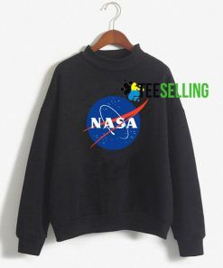 Nasa Sweatshirt Adult Unisex Size S-3X For Men And Women