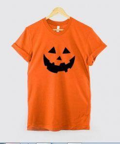 Pumpkin Face T shirt Adult Unisex Size S-3XL