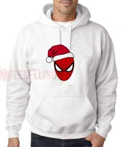 Spiderman Hat Christmas Hoodie Adult Unisex Size S-3XL