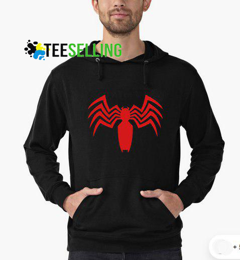 Spiderman Venom Hoodie Adult Unisex Size S 3XL