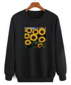 Sun Flower Sweatshirt Adult Unisex Size S-3XL